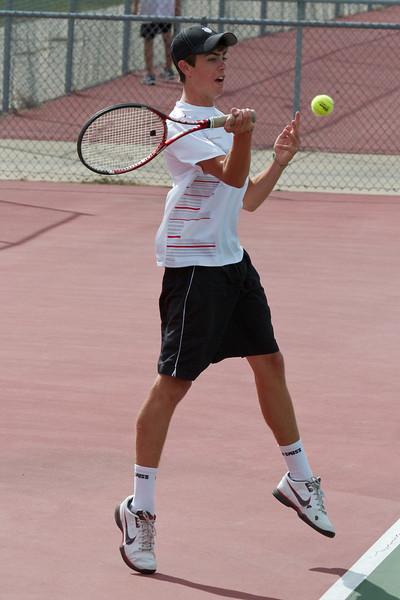 2011, Sept 7 East Kentwood Varsity Tennis vs. Grandville