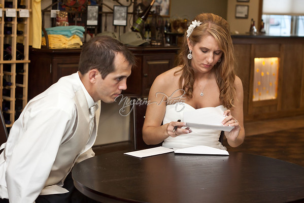 Marriage License - Jenni and Micah