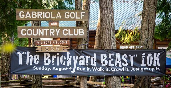 Brickyard Beast 10K Run 2019