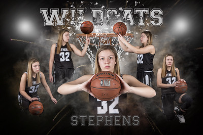 Rachel Stephens Basketball 2020