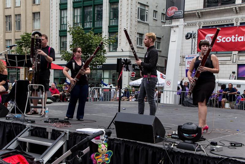 """""""Das Fagott Mannschaft"""" (""""The Bassoon Team""""), from Toronto"""