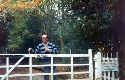 Ticehurst, East Sussex, UK, Weekend - 1981.