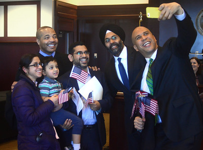 Naturalization Ceremony in Trenton