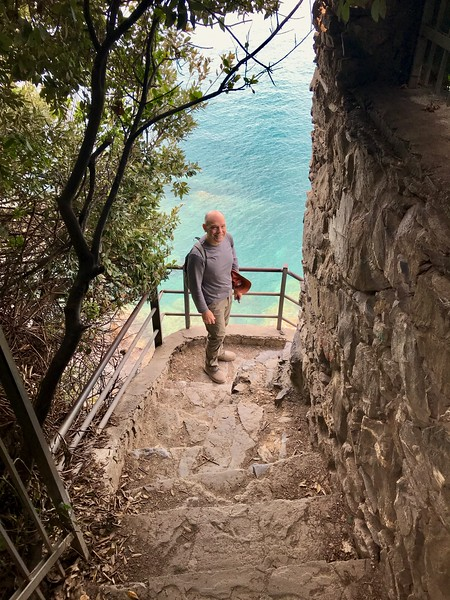 Views along the trails of Cinque Terre