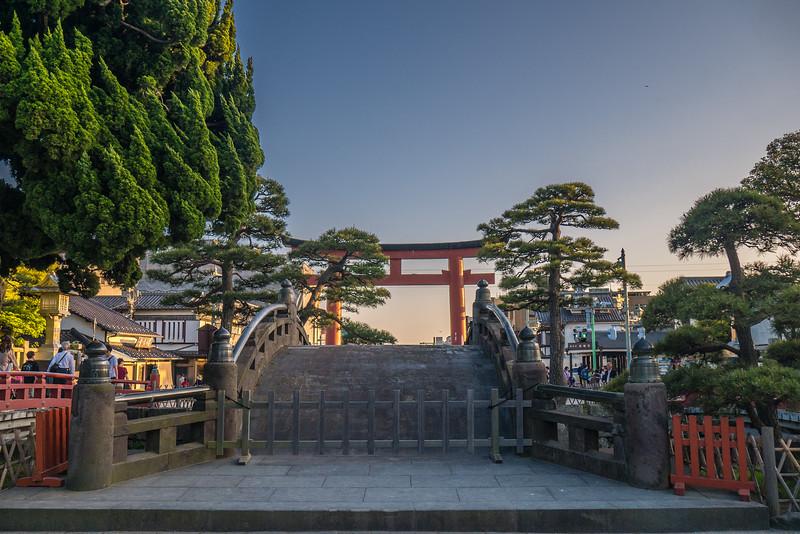 Tsurugaoka Hachiman-gū Temple in Kamakura, Japan.