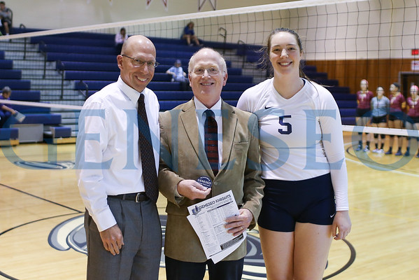 Volleyball vs. Fisher (Faculty Recognition)