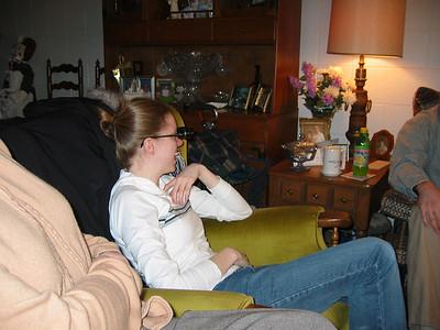 2003 Visiting Great Grandma Meehan