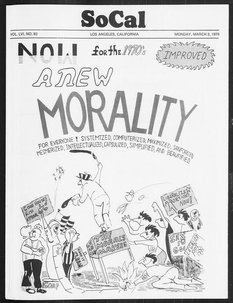 SoCal, Vol. 61, No. 83, March 02, 1970