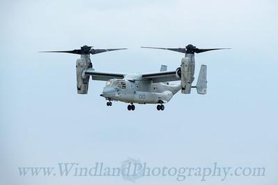 MV-22 Osprey Visit