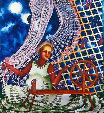 The Spinster by Helen Klebesadel