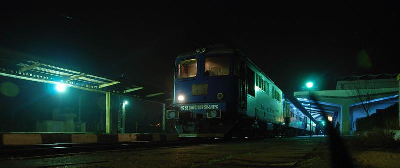 My night on Romanian and Moldovan railways