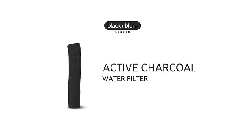 Active Charcoal Water Filter Black Blum