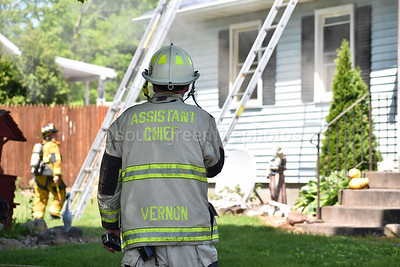 Structure Fire - 86 Thrall Rd, Vernon CT - 5/27/20