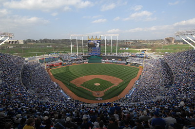 Royals Opening Day 2010
