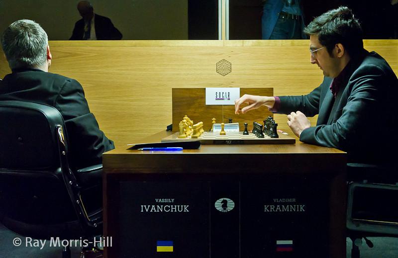 Round 14: Vassily Ivanchuk vs Vladimir Kramnik