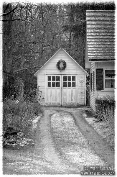 Grandma's Garage. Photography by Wayne Heim