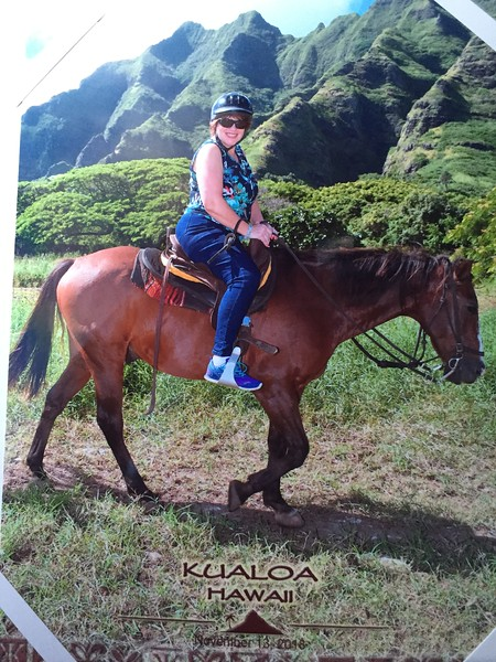 My horse, Moe