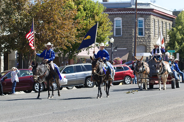 2014 Hells Canyon Mule Days Parade