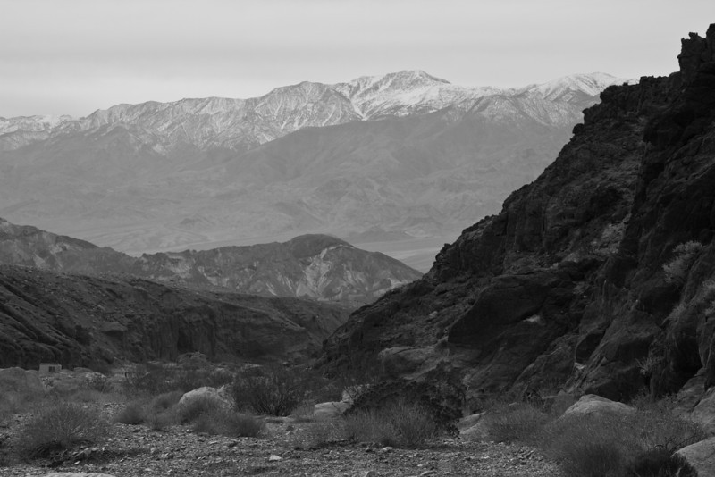 Rugged valley...