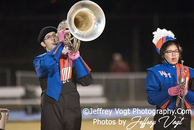 10-20-2017 Watkins Mill HS Marching Band, Photos by Jeffrey Vogt Photography