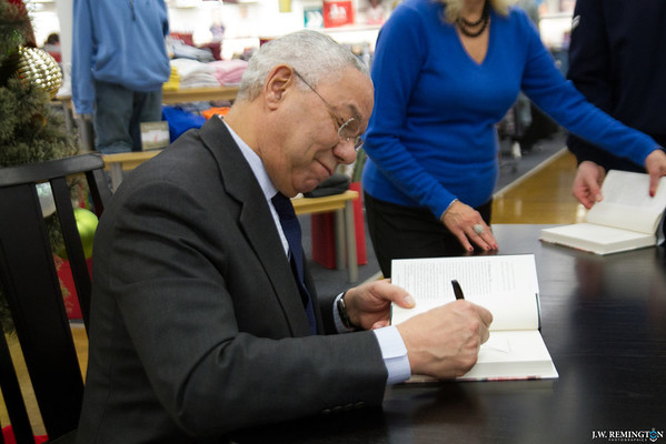 Colin Powell Book Signing