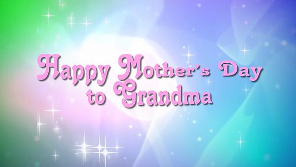 Pastel Sparkles for Grandma
