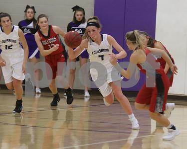 LHS Girls BB vs. Anderson County