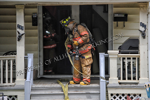Wallingford 298 Ward St. Basement Fire