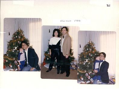 Dec 1984 Christmas, Mochitsuki, Wakiji