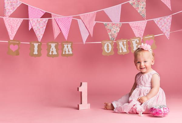 Chloe Teasdale's 1st Birthday Party