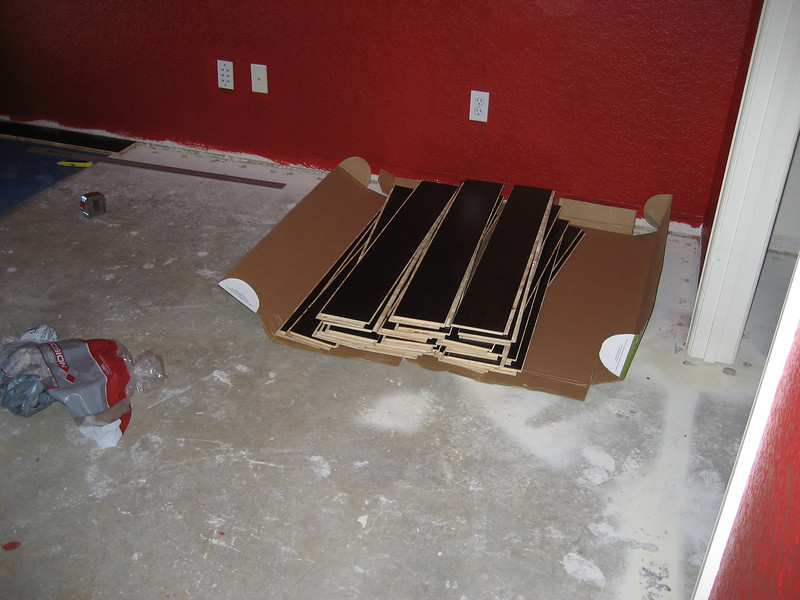 Three boxes of boards mixed, we continue mixing as we stock runs low.