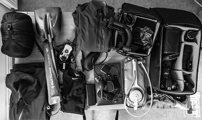 Utrustning på resan