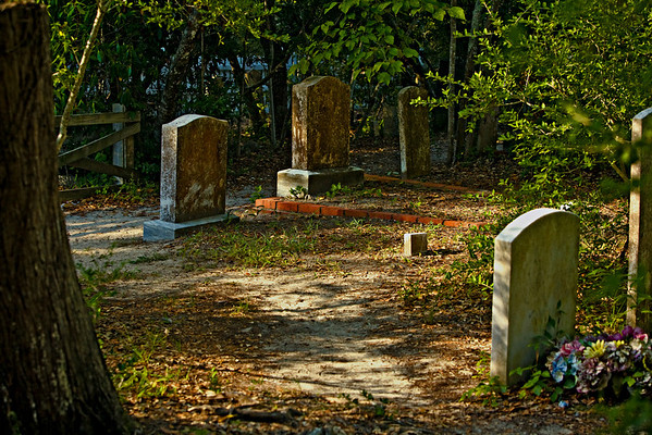 Ocracoke Cemetery OBX Outer Banks North Carolina  --  Raleigh Durham Cary Photographer