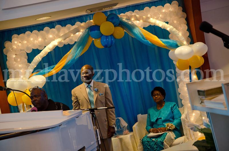 Visiting Pastor Thomas 26th Anniversary  8-12