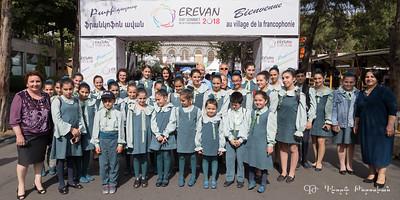 Yeghegnatzor choir in Yerevan