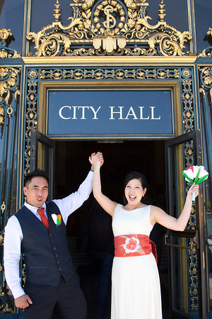 Chester and Iku's San Francisco Wedding