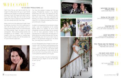 Wedding Booklet 2020