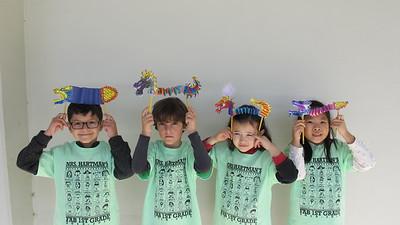 PCR Kids Make Lunar New Year Dragon Puppets