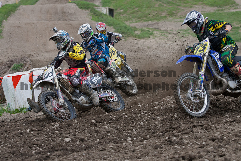 AMA District 3/CNYMRA Motocross Points Race at Broome-Tioga 06-24-2012