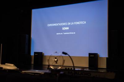 Experimentadores en la Fonoteca Febrero 2016