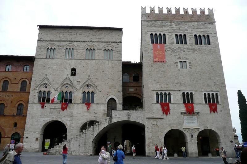 Palazzo del Capitano. Todi, Umbria