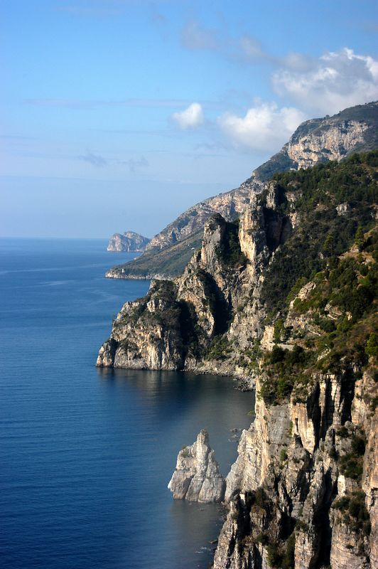 The Road to Positano and Amalfi