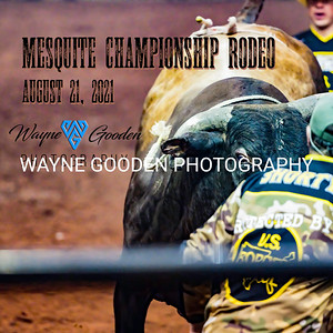 Mesquite PRCA Rodeo August 21, 2021