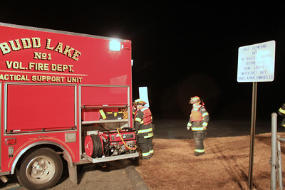 Budd Lake Fire Out Door Ice Drill