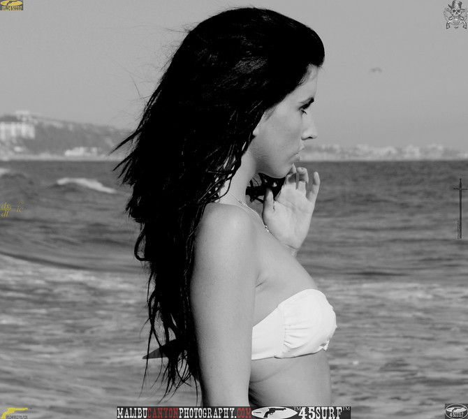 beautiful woman sunset beach swimsuit model 45surf 516.09.09...