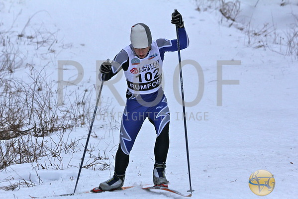 2012 Boys Maine Class C Nordic Freestyle Championships