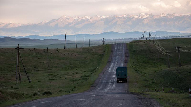 Kazachstán| Na cestě do Kyrgyzstánu