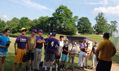 Baseball Camp Thrusday 2014