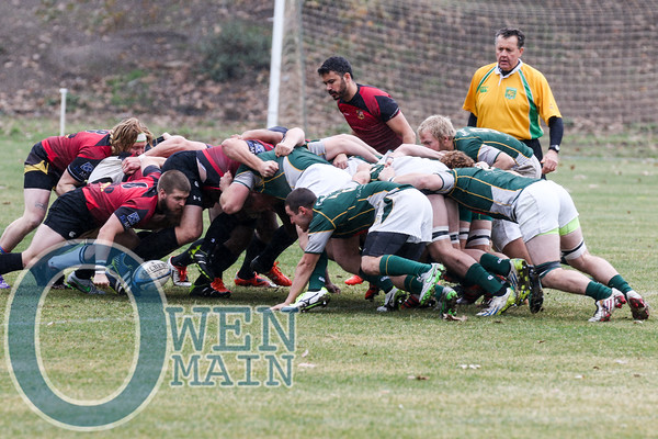 Cal Poly Rugby vs. SLO Rugby Club 1/9/2016
