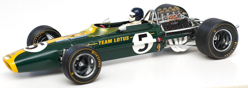 1967 #5 Lotus Ford 49 Jim Clark Dutch GP GPC97001 SOLD 8/31/12